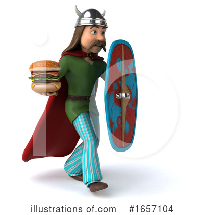 Gaul Man Clipart #1657104 by Julos