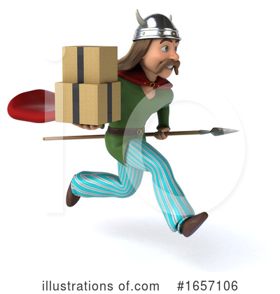Gaul Man Clipart #1657106 by Julos