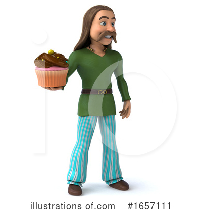 Gaul Man Clipart #1657111 by Julos