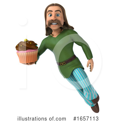Gaul Man Clipart #1657113 by Julos