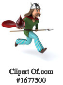 Gaul Man Clipart #1677500 by Julos
