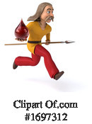 Gaul Man Clipart #1697312 by Julos