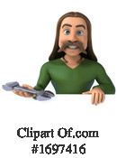 Gaul Man Clipart #1697416 by Julos