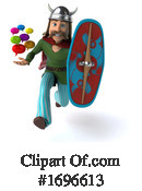 Gaul Warrior Clipart #1696613 by Julos