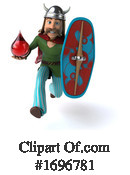Gaul Warrior Clipart #1696781 by Julos