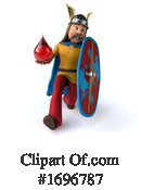 Gaul Warrior Clipart #1696787 by Julos