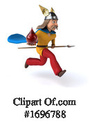 Gaul Warrior Clipart #1696788 by Julos