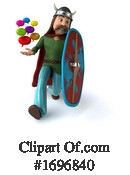 Gaul Warrior Clipart #1696840 by Julos