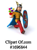 Gaul Warrior Clipart #1696844 by Julos