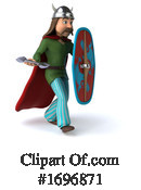 Gaul Warrior Clipart #1696871 by Julos