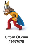 Gaul Warrior Clipart #1697070 by Julos