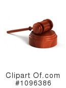 Gavel Clipart #1096386 by stockillustrations