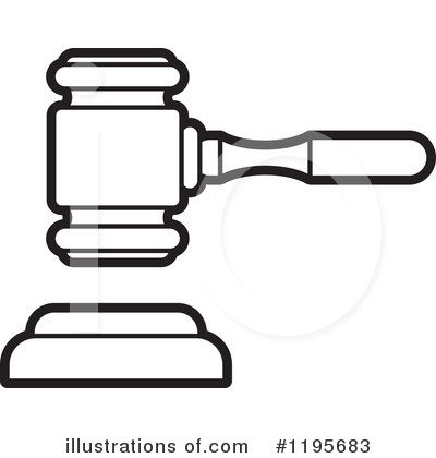Gavel Clipart #1195683 by Lal Perera