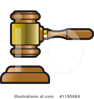 Gavel Clipart #1195684 by Lal Perera