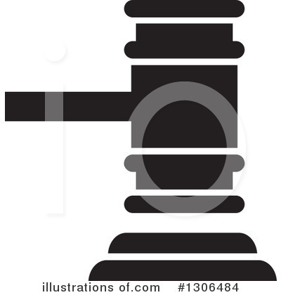 Gavel Clipart #1306484 by Lal Perera