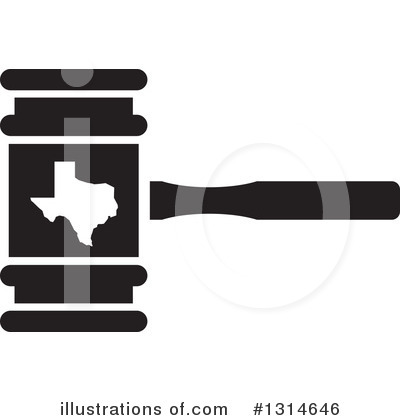 Gavel Clipart #1314646 by Lal Perera