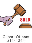 Gavel Clipart #1441244 by Lal Perera