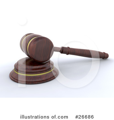Gavel Clipart #26686 by KJ Pargeter