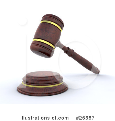 Gavel Clipart #26687 by KJ Pargeter