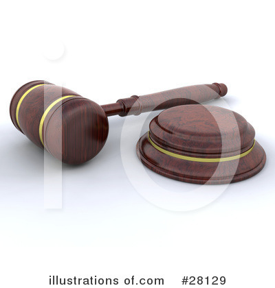 Gavel Clipart #28129 by KJ Pargeter
