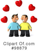 Gay Couple Clipart #98879 by Julos