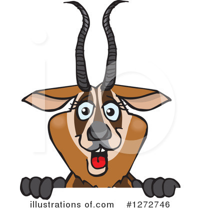 Deer Clipart #1272746 by Dennis Holmes Designs
