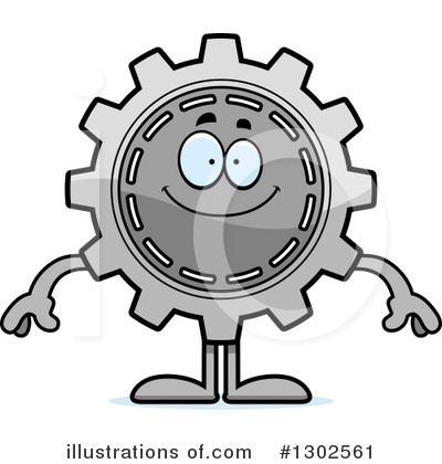 Royalty-Free (RF) Gear Clipart Illustration by Cory Thoman - Stock Sample #1302561