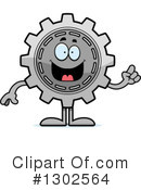 Royalty-Free (RF) Gear Clipart Illustration #1302564