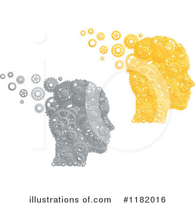 Thinking Clipart #1182016 by Vector Tradition SM
