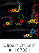Royalty-Free (RF) Gears Clipart Illustration #1187321