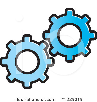 Cog Wheel Clipart #1229019 by Lal Perera