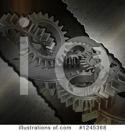 Gears Clipart #1245368 by KJ Pargeter