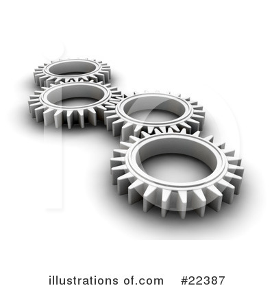 Gears Clipart #22387 by KJ Pargeter