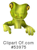 Gecko Character Clipart #53975
