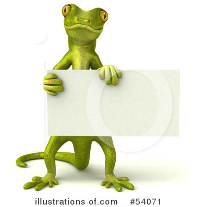Gecko Clipart #54071 by Julos
