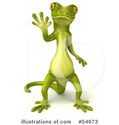 Gecko Clipart #54073 by Julos