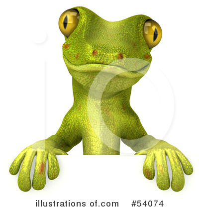 Gecko Clipart #54074 by Julos