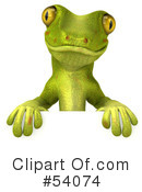 Gecko Character Clipart #54074