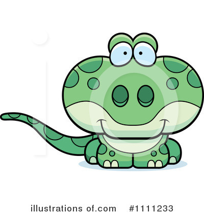 Gecko Clipart #1111233 by Cory Thoman