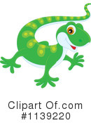 Royalty-Free (RF) Gecko Clipart Illustration #1139220