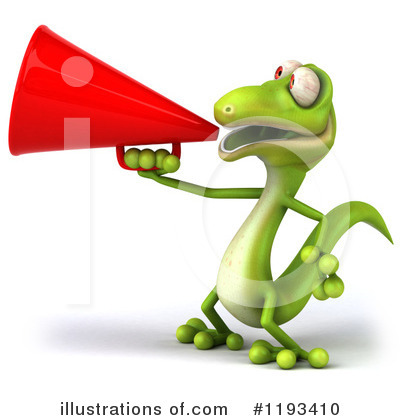 Gecko Clipart #1193410 by Julos