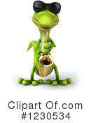 Gecko Clipart #1230534 by Julos