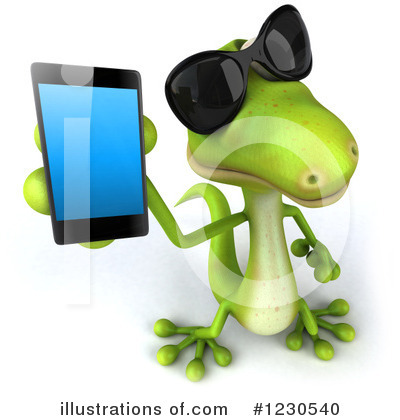 Cell Phone Clipart #1230540 by Julos