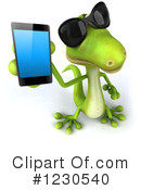 Royalty-Free (RF) Gecko Clipart Illustration #1230540