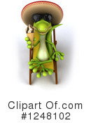 Gecko Clipart #1248102 by Julos