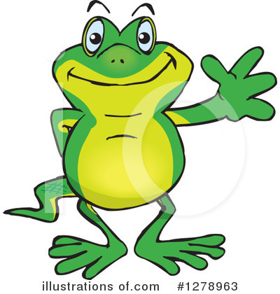 Gecko Clipart #1278963 by Dennis Holmes Designs
