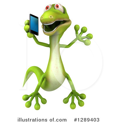 Gecko Clipart #1289403 by Julos