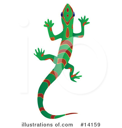 Gecko Clipart #14159 by Rasmussen Images