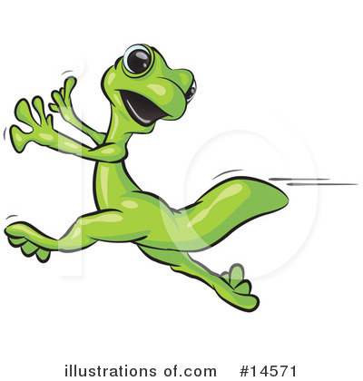 Gecko Clipart #14571 by Leo Blanchette