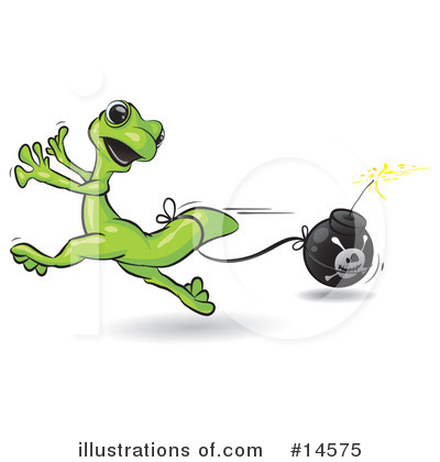 Gecko Clipart #14575 by Leo Blanchette